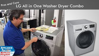 Pros and Cons of the LG  All in One Washer Dryer Combo #WM3488HS