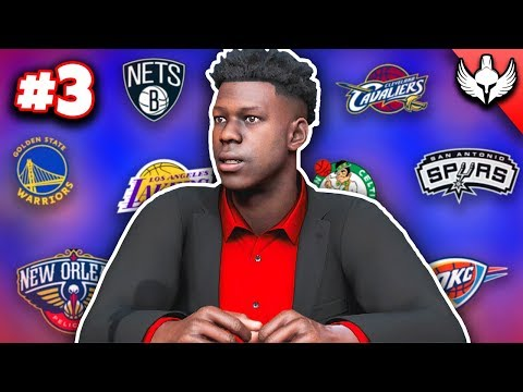 NBA 2K20 MyCAREER - THE DRAFT!! WHERE DID I GO?! (Ep 3)
