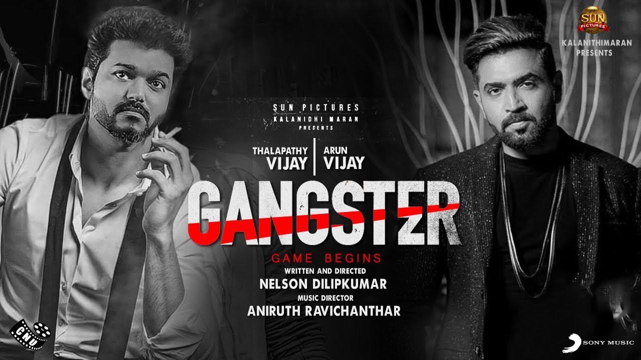 Gangster Teaser – Mass Action Theme Track   Thalapathy 65   Vijay   Arun Vijay   Aniruth   Nelson