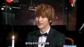 eng sub 120214 kyuhyun on we got married special edition in china 2 4