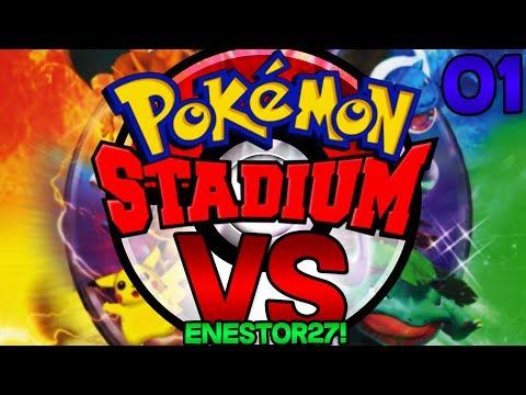 Pokémon Stadium Versus Co-Op with @Enestor27 EP 1!