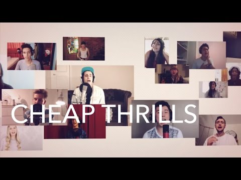 2000 Voices Sing - Cheap Thrills - Sia  [Acapella]