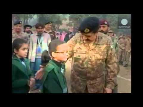 LiveLeak - Pakistan: Tight security as children return to school after  Taliban massacre