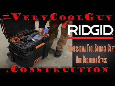 Ridgid 22 Professional Tool Storage System Amp 25 Tool Tube Overview Funnydog Tv