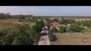 Dożynki Gminne 2015 Skorków gm. Krasocin Okiem-Drona