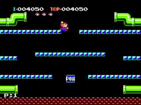 Engineer rage quits while playing Mario Bros. Classic