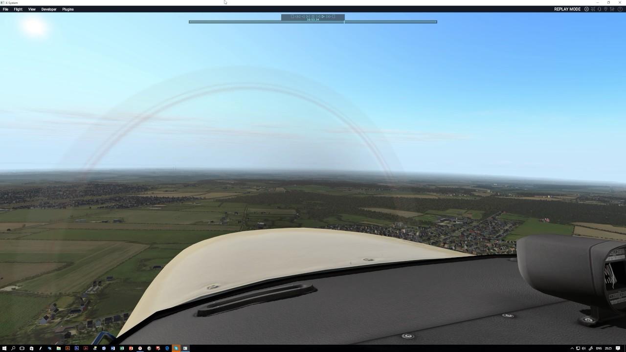 X-Plane 11  Short C172 Training, Norwich (UK)  xEnviro + Ortho4XP UK (Full)  + W2XP Europe