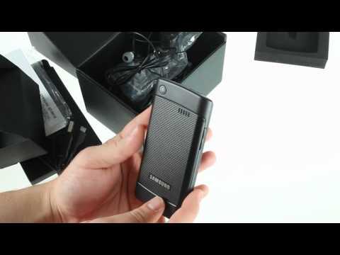 Samsung I9010 Galaxy S Giorgio Armani hands-on