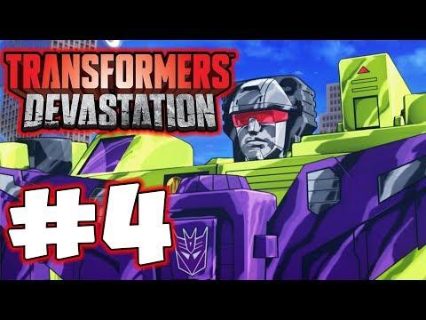 Transformers Devastation - Part 4 - Devastator! Gameplay Walkthrough