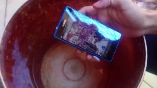 Tes Air Sony Z4 Compact Docomo