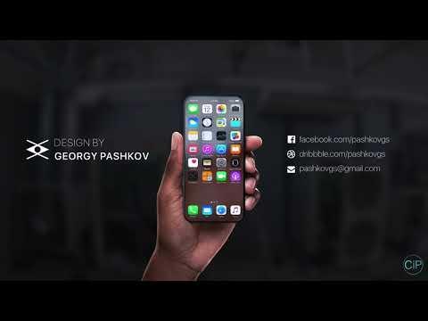 iPhone 8 - Transparent Screen