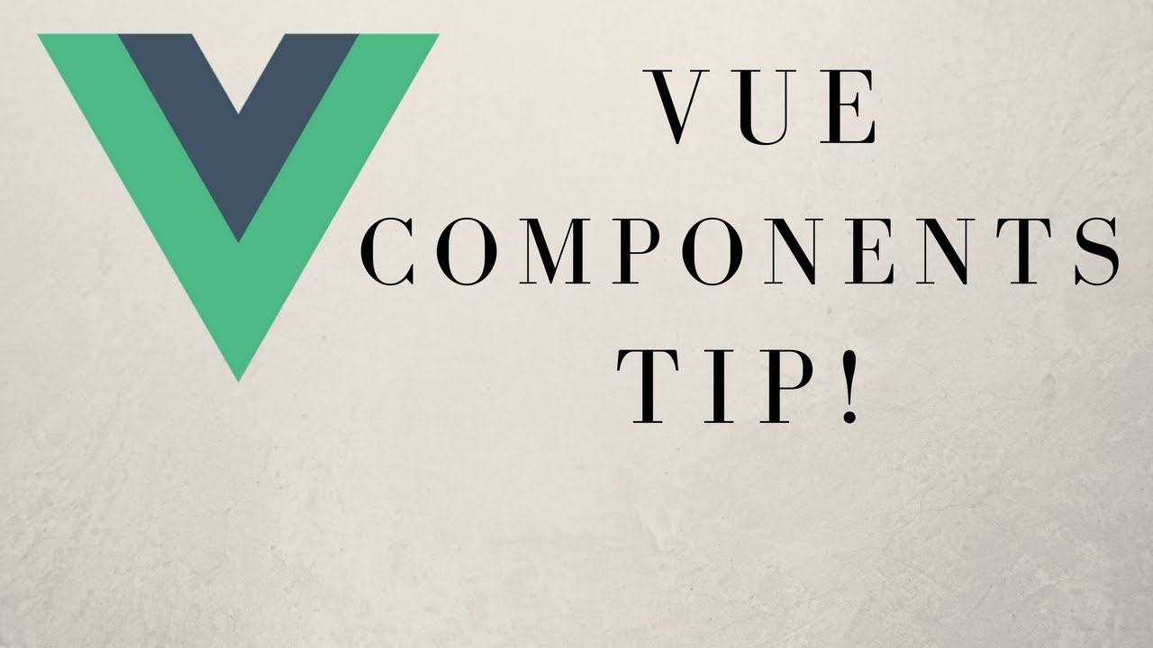 Quick Tip - How To Split A Vue js Component Into Three Files