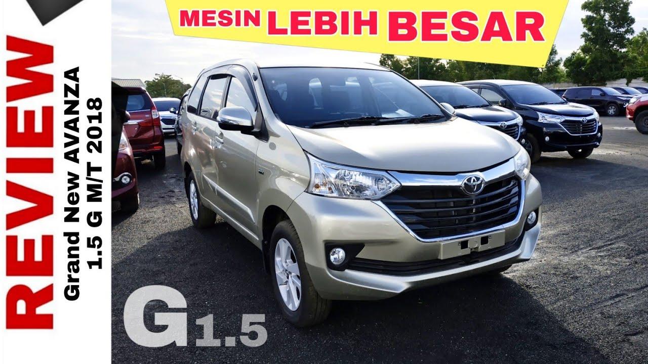 Head Unit Grand New Veloz 2018 Spesifikasi Toyota All Kijang Innova Explorasi Avanza 1 5 G Tipe Tertinggi Auto2000 Bjm Dealer Banjarmasin