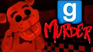 FIVE NIGHTS WITH FREDDY - Gmod Murder