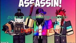 Roblox Assassin Duplication Glitch Real!!! (NOT PATCHED)