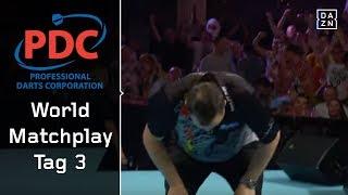 Nervenschlacht zwischen Kim Huybrechts und John Henderson | World Matchplay 2018 | Tag 3 | PDC