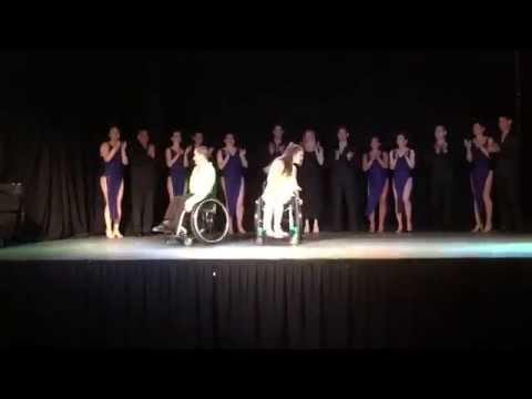 Wheelchair Salsa Dance by Paul & Emily.