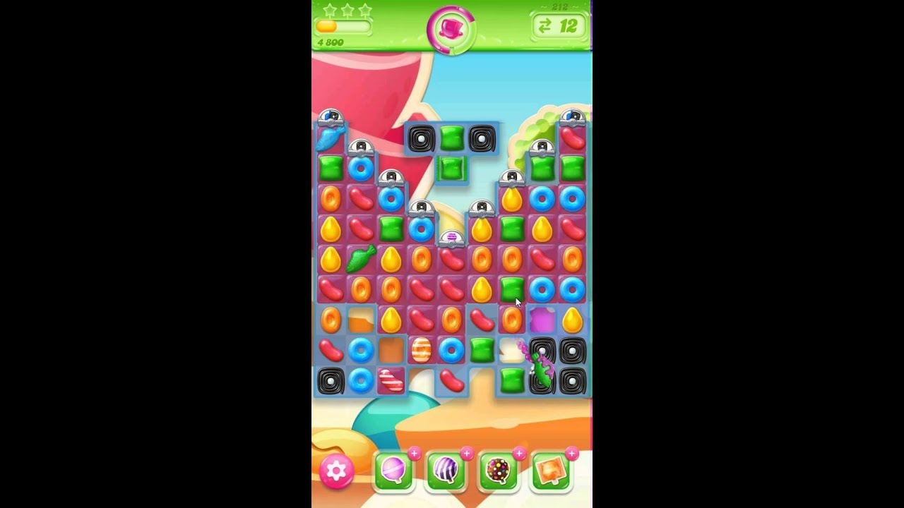 how to win level 212 in candy crush