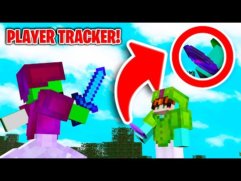 how-to-make-a-player-tracking-compass-in-minecraft-like-dream!
