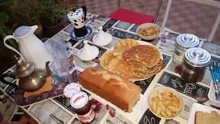 تحضير مائدة  الكوتي ساهل سريع/حرشة سائلة بالكوك/كيكة