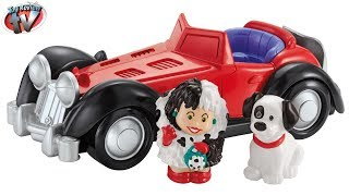 Little People Disney 101 Dalmations: Cruella De Vil Playset Toy Review, Fisher Price