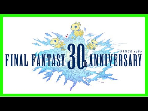 Breaking News   'final fantasy'-inspired art gallery opening for franchise's 30th anniversary