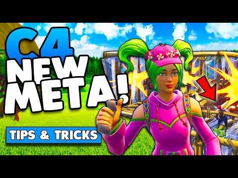 C4 New OP Meta! Tips & Tricks | Win More Games! | Fortnite Battle Royale