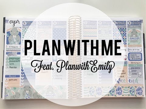 Erin Condren   Plan with Me feat. PlanwithEmily