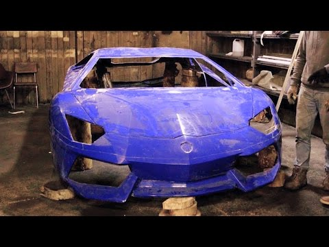 Replica Lamborghini Aventador / Часть 4. Сборка кузова