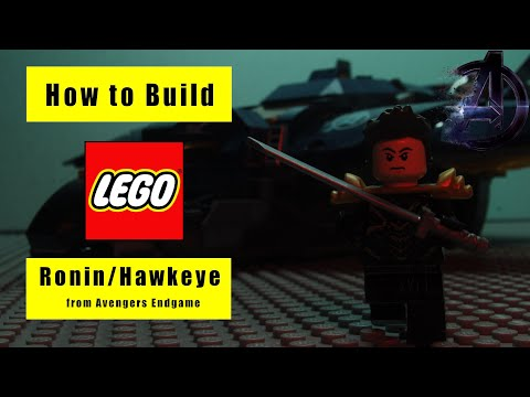How To Build RONIN In LEGO (Endgame Custom)