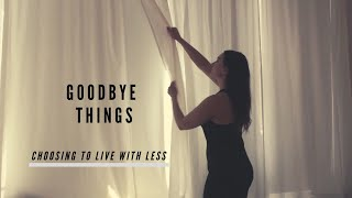 Choosing To Live With LESS - GOODBYE THINGS Fumio Sasaki - New Japanese Minimalism