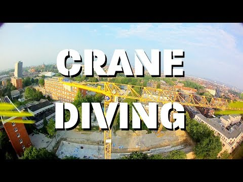 FPV-DIRK: FPV FREESTYLE CRANE DIVING (FREESTYLE, DIVING, EPIC, AERIAL)(4k/60p)