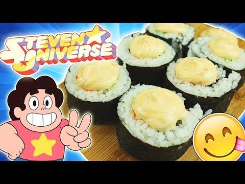 Snack de SUSHI de Steven Universe!!!...