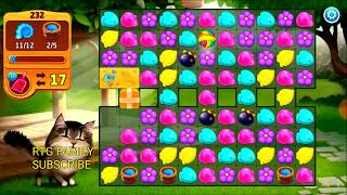 Lets play Meow match level 232 HARD LEVEL HD 1080P