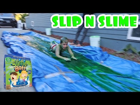 SLIP 'N SLIME CHALLENGE WITH THE DUDESONS