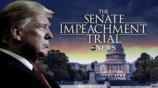 Watch LIVE: Impeachment Trial of President Donald Trump day 8 - ABC News Live Coverage