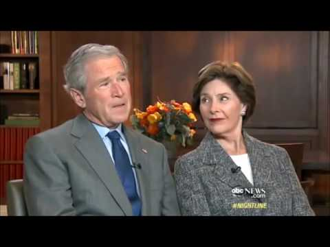 George W Bush - Freudian slip of the tongue...