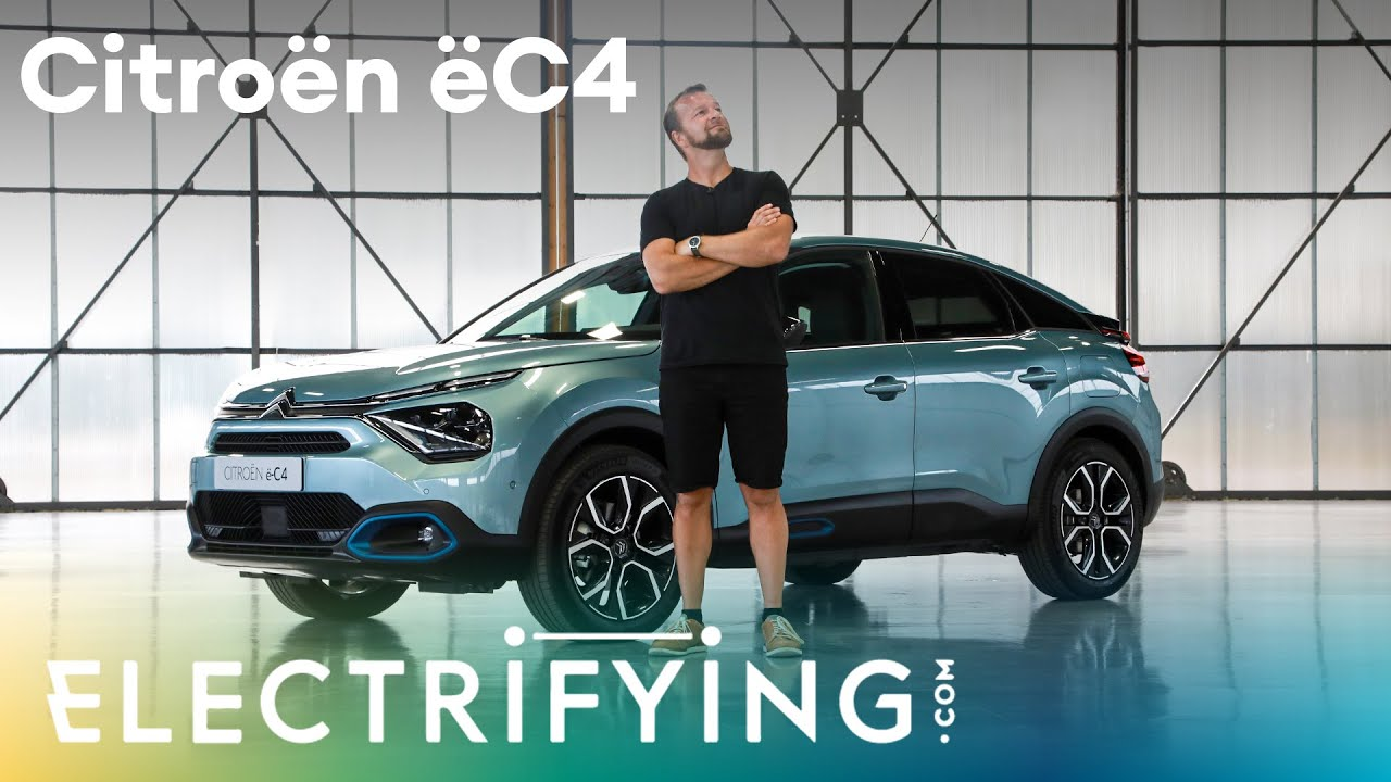 Citroen e-C4 – Tom Ford's first look at Citroen's new electric car for 2021– Electrifying