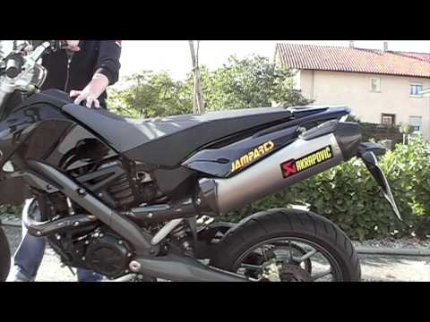 Akrapovic Bmw G650 Xmoto Sound Test Bei Jamparts Youtube