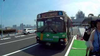 【前面展望】都営バス[都03]晴海埠頭➡四谷駅