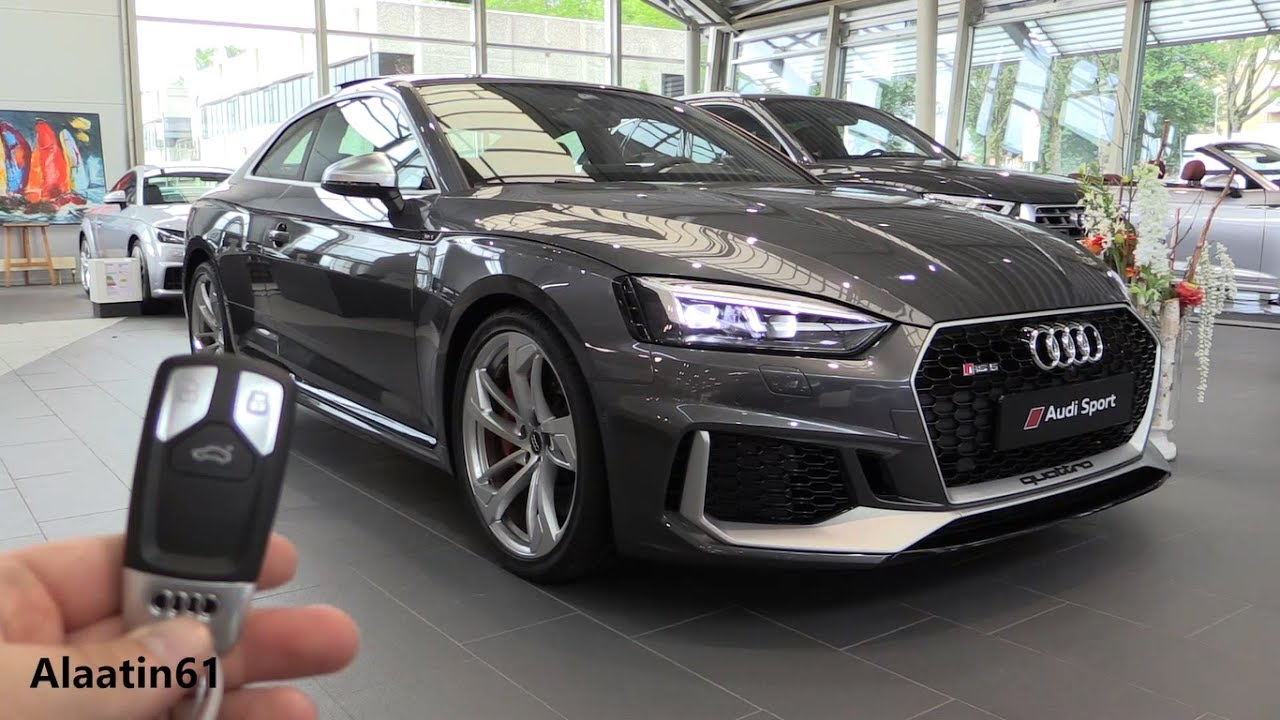 הוראות חדשות INSIDE the NEW Audi RS5 2017 | New In Depth Review Interior AO-19