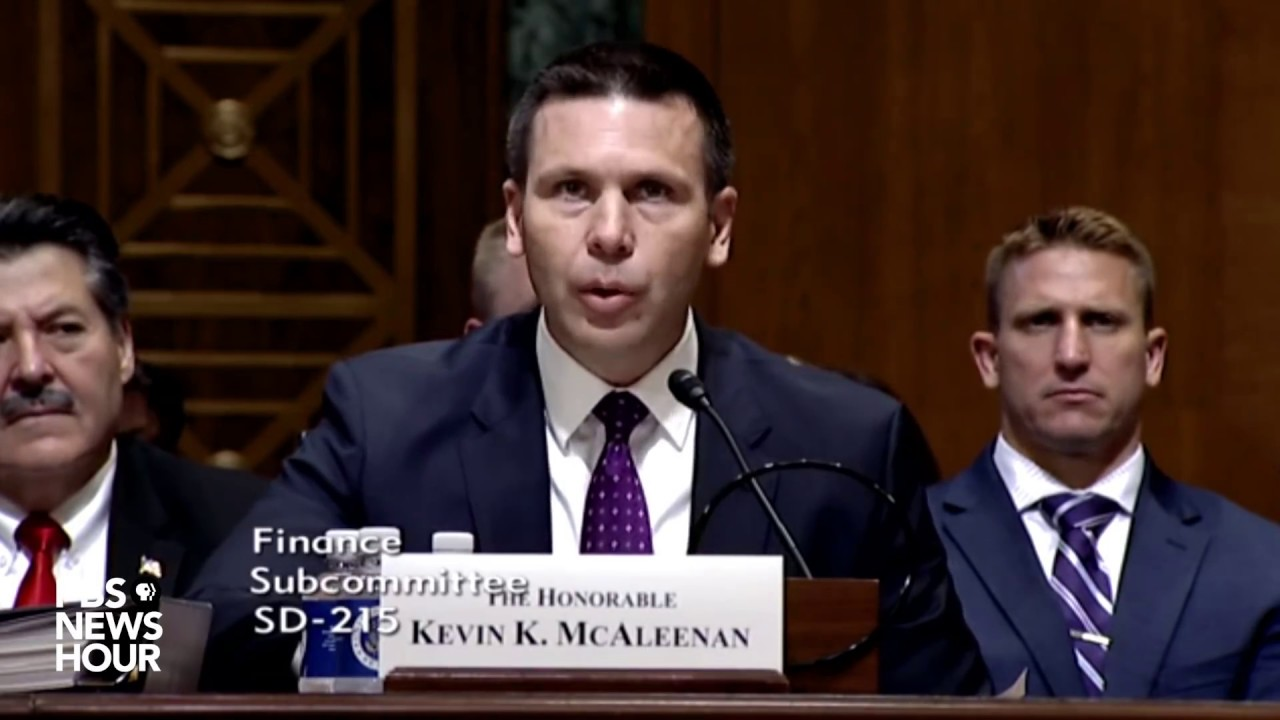 Image result for photos of Kevin McAleenan and Mark Morgan