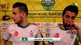 Adem Güven & Ertuğrul Artar - Semt-i Atletico / İSTANBUL / iddaa Rakipbul Ligi 2016 Açılış Sezonu