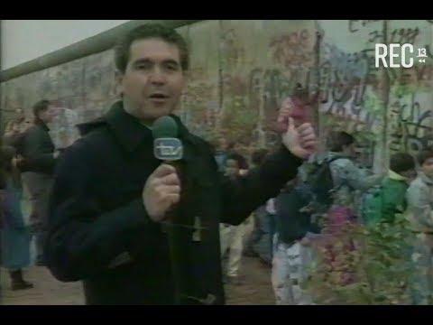 Caída del Muro de Berlín (nota de prensa Canal 13, 1989)