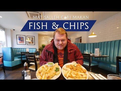 Fish & Chips Halal Di Queen's Park, London - Mat Salleh Cari Makan