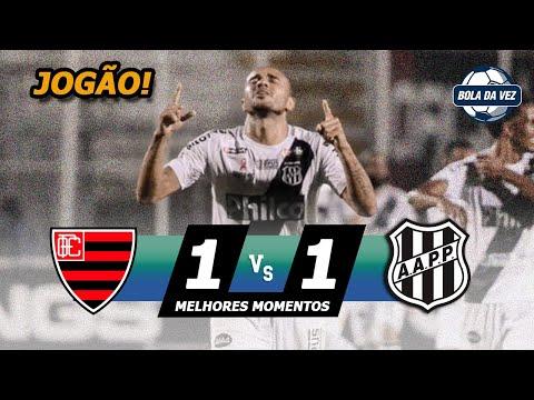 Oeste 1 x 1 Ponte Preta Melhores Momentos & Gols Brasileirão Serie B 11/10/2019