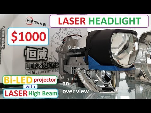 Laser HeadLight In Bi-led Projector An Overview