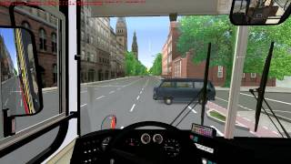 OMSI | X97 Hammersmith Bus Station - Oxford Circus | Ikarus 263 | London & South | Map download