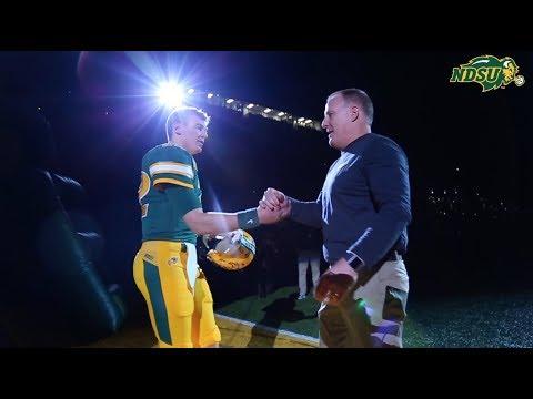 NDSU Football Rolls Past Southern Illinois 65-17
