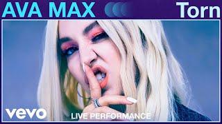 "Ava Max - ""Torn"" Live Performance | Vevo"